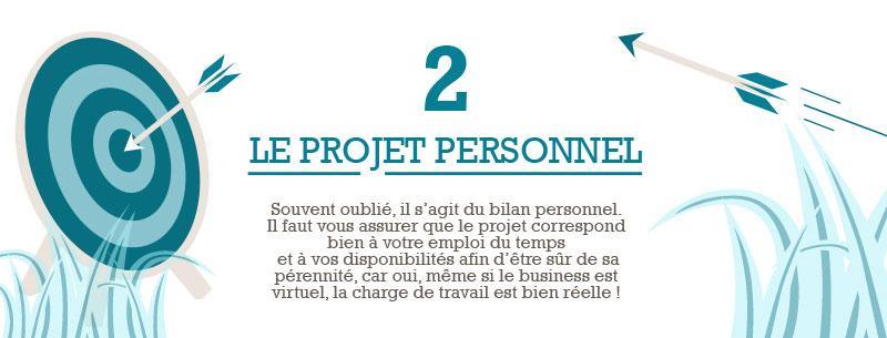 Infographie e-commerce - Etape 2 - Le projet personnel