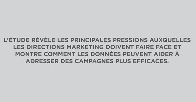 Les 7 canaux prioritaires pour les directions marketing sont sur le web
