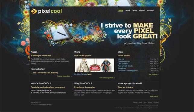 Exemple - Portfolio designer freelance