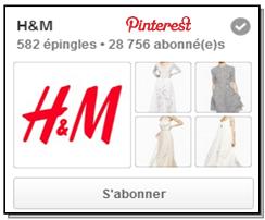 h&m sur pinterest