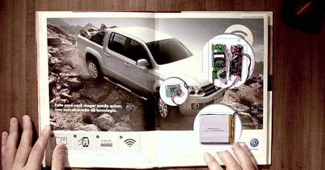 Volkswagen amarok wifi ad