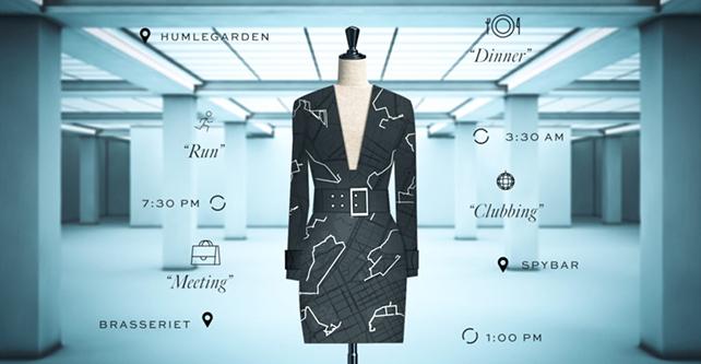 Robe personnalisable proposée par IvyRevel et Google