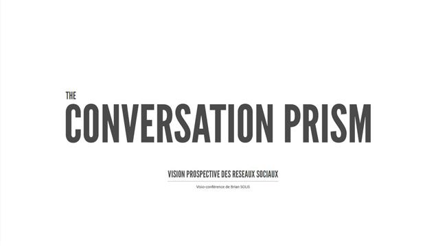 Livre blanc : The Conversation prism